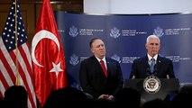 Pence anuncia un alto el fuego en la ofensiva turca en Siria