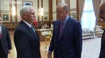 Cessate il fuoco in Siria: lo annuncia Pence dopo un vertice con Erdogan