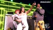 Cardi B and Baby Kulture Make Surprise Appearance During Offset's Set at Billboard's Hip-Hop Live Concert Series | Billboard News
