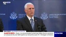 Syrie: le vice-président américain annonce un cessez-le-feu de 120h, à la suite de sa rencontre avec le président Erdogan