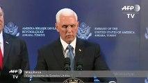 Turquía suspenderá ofensiva para que kurdos se retiren del norte sirio, dice Pence
