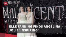 Elle Fanning Has A Mentor In Angelina Jolie