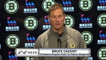 Bruce Cassidy Compares Young Lightning Star To Patrice Bergeron