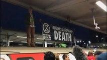 Idegesítették a klímatüntetők a londoni ingázók egy részét