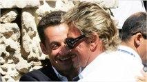 Le jour où Johnny Hallyday a trouvé « un sachet d'herbe » chez Nicolas Sarkozy