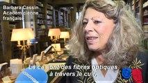 Neuvième femme à l'Académie française, Barbara Cassin est devenue immortelle