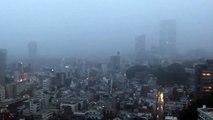 Ecoutez la terrifiante alerte aux typhons entendue à Tokyo