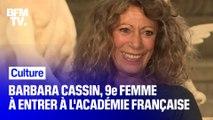 Barbara Cassin devient la 9e femme à faire son entrée à l'Académie française