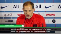 Tuchel gives Mbappe fitness update