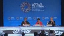 """Nueva directora del FMI insta a la """"paz comercial"""" y un """"brexit"""" ordenado"""