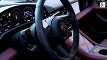 Porsche Taycan reaches its maximum speed in16 seconds
