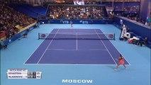Moscou - Le jeu de la victoire pour Mladenovic contre Sevastova