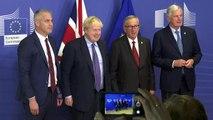 EU-英, 브렉시트 합의...의회 비준 불투명 / YTN