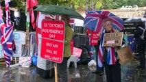 Brexit: les Britanniques réagissent au nouvel accord entre Londres et Bruxelles