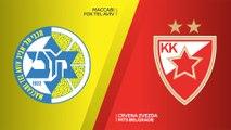 Maccabi FOX Tel Aviv - Crvena Zvezda mts Belgrade Highlights | Turkish Airlines EuroLeague, RS Round 3