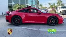 Daily Blend: Test Driving the New Porsche 911