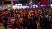 Balıkesir'de harekata destek yürüyüşüne binlerce kişi katıldı