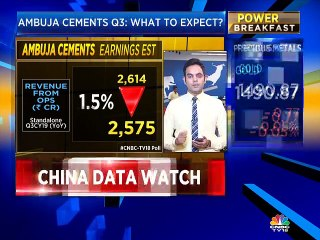 Nigel D'Souza on what to expect from Ambuja Cements' Q3CY19 numbers