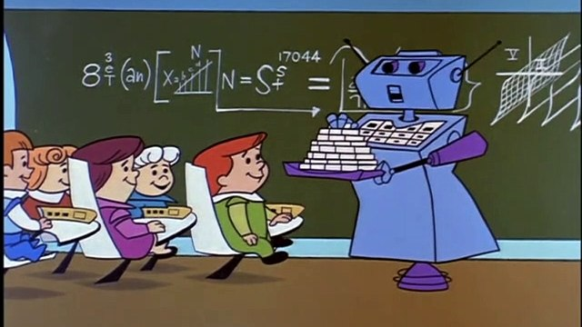 """The Jetsons season 1 chapter 24 """"Elroys Mob"""""""