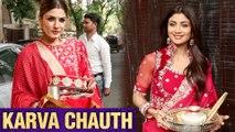 Shilpa Shetty, Raveena Tandon And Many Bollywood STARS Celebrate Karva Chauth 2019