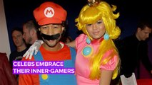 Celebs take their video game-inspired costumes to the next level