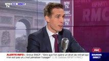 """Jean-Baptiste Djebbari : """"La réforme des retraites vise à rétablir de l'équité à l'égard des jeunes générations"""""""