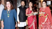 Karva Chauth 2019: Shilpa Shetty, Raveena Tandon, Farah Khan And Others Spotted