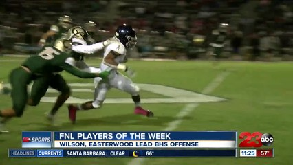 FNL Players of the Week: Wesley Wilson and Rickey Easterwood