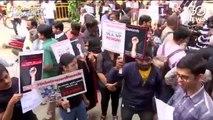 बैंगलुरू के लोग विकास को लेकर सड़क पर उतरे, विधायक और सांसद का इस्तीफा मांगा