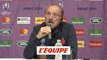Jacques Brunel explique ses choix pour le quart de finale contre le pays de Galles - Rugby - Bleus