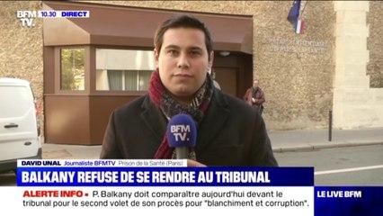 Patrick Balkany refuse de se rendre au tribunal