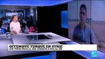 """Treve en Syrie : """"Le cessez-le-feu n'est pas très respecté"""""""