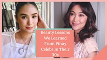 Beauty Lessons We Learned From Pinay Celebs In Their 30s