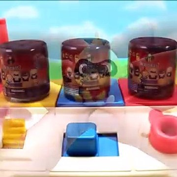 Kids Play Disney Pop Up Toy Surprises Incredibles 2 Mashems Learn Colors Numbers Toys For Kids