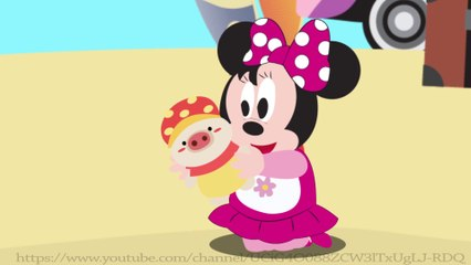 Cartoon for Kid | Kid Movies | Beach Escape with Mickey mouse and minnie mouse