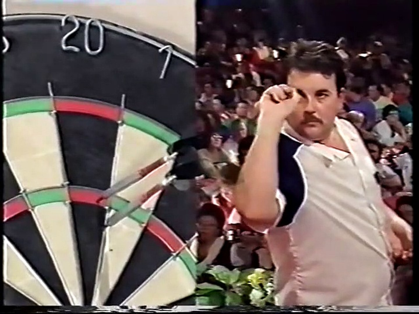 BDO World Darts Championship Final 1992 - Mike Gregory vs Phil Taylor  2of4