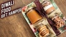 How To Make DIWALI FOOD GIFT HAMPER   DIY Gift Hamper   Festive Hamper By Bhumika
