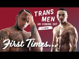 Trans men reveal the first time they realised they were transgender | First Times