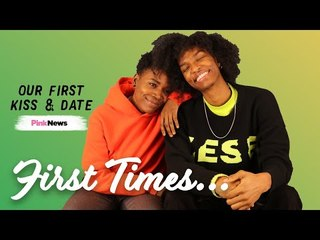 Ari Fitz and Jade reveal their first time kissing a girl | First Times