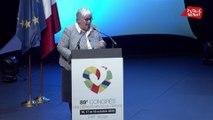 ADF: : Jacqueline Gourault prend la parole alors que de nombreux présidents de département quittent la salle