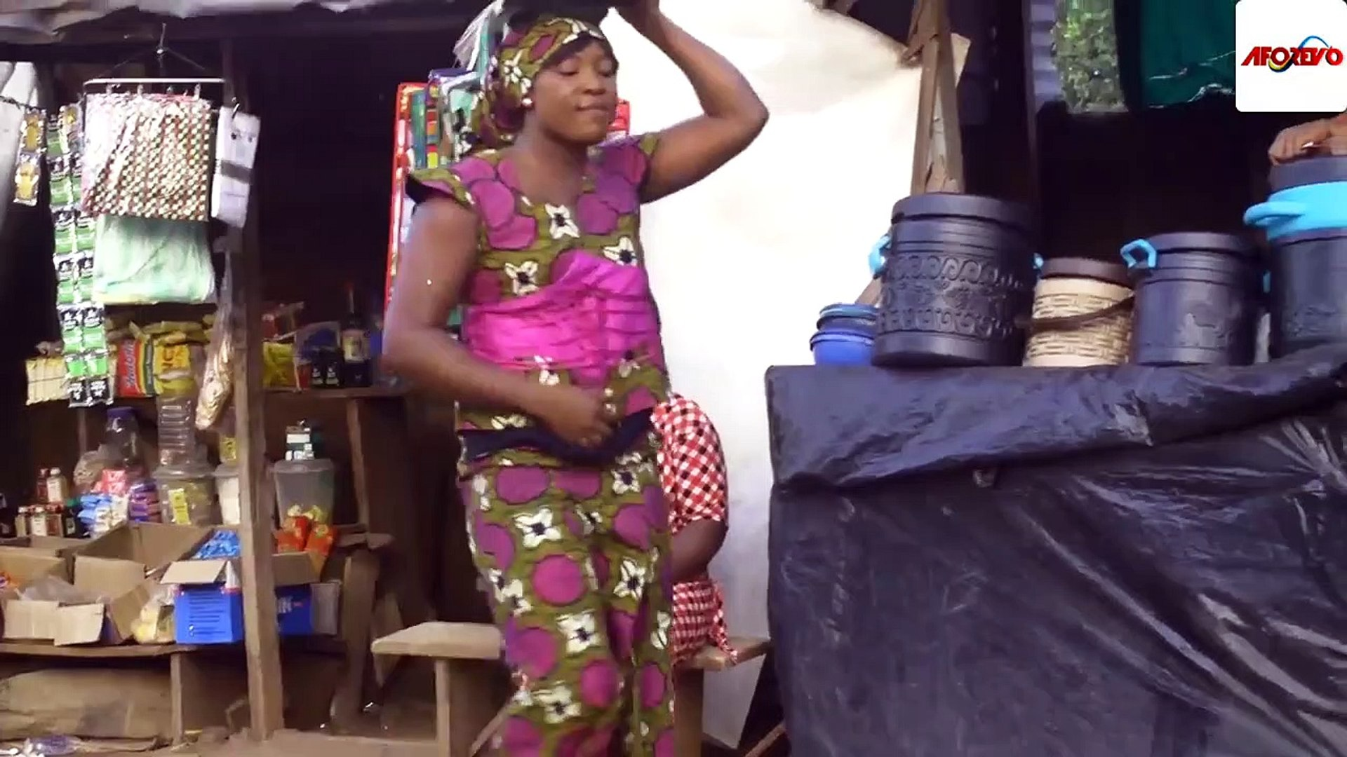 The Little Groundnut Seller God Used To Wipe The Tears Of D Poor Family 2- NIGERIAN MOVIES 2019