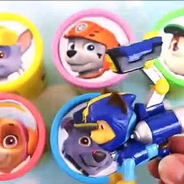 Paw Patrol Uniform Swap Play Doh Surprise Toys With Old MacDonald Nursery Rhyme Toys For Kids