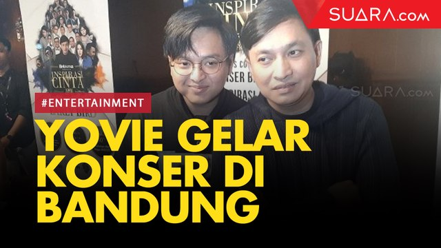 Yovie Widianto Gelar Konser Inspirasi Cinta di Bandung