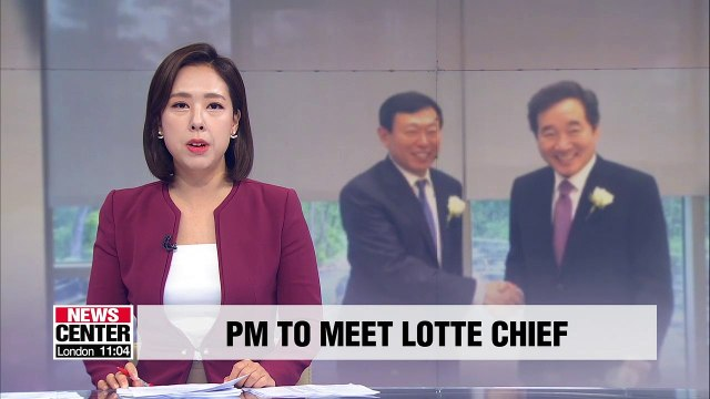 PM Lee Nak-yon to have closed-door dinner with Lotte Group chief ahead of Japan trip