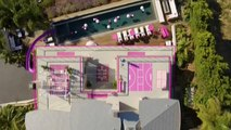Watch: Life in plastic is fantastic as Barbie opens her Dreamhome to guests