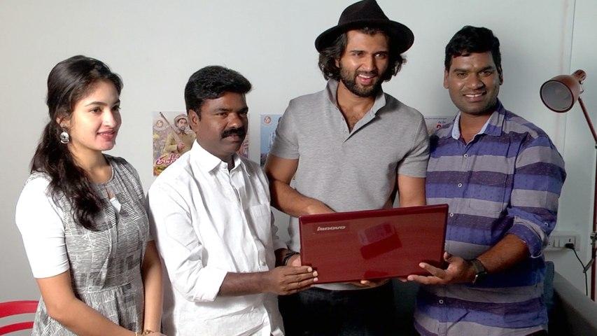 Vijay Devarakonda Launched Bithiri Sathi 'Tupaki Ramudu' Teaser