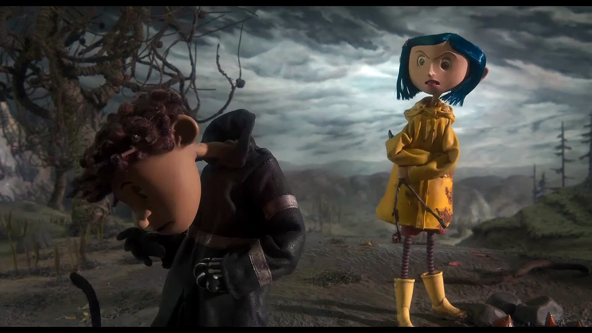 Coraline Movie Clip Why Born Video Dailymotion