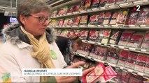 Consommation : des agricultrices vont au supermarché contrôler l'origine des produits
