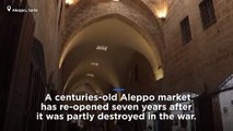 Watch: Aleppo souk reopens, representing return to former way of life