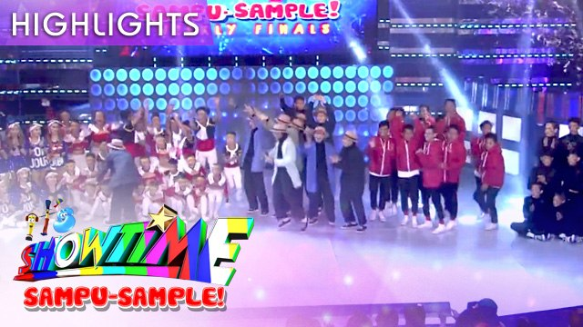Gingoog Pride, Sampaguita Cheer Squad and Funk You All enter the finals | It's Showtime Sampu-Sample
